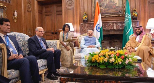 ولي العهد يبدأ زيارته إلى الهند لتكريس علاقات التعاون المشترك