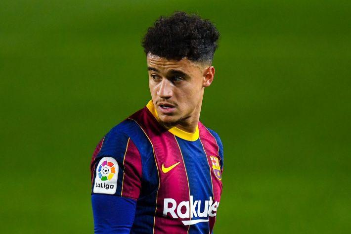 فيليب كوتينيو لاعب برشلونة