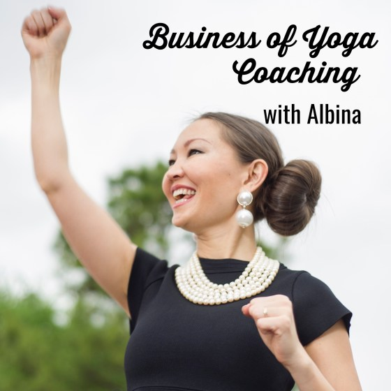 yoga business coach albina rippy