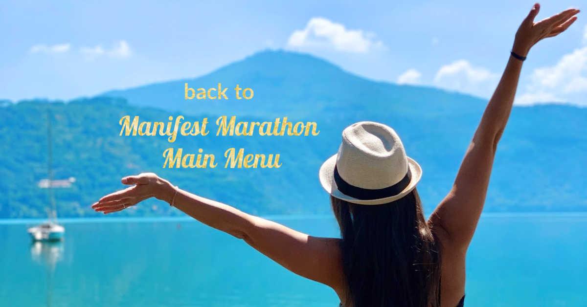 Manifest Marathon Main Menu