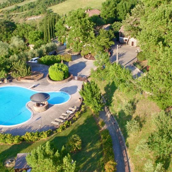 Swimming Pool at La Selvella