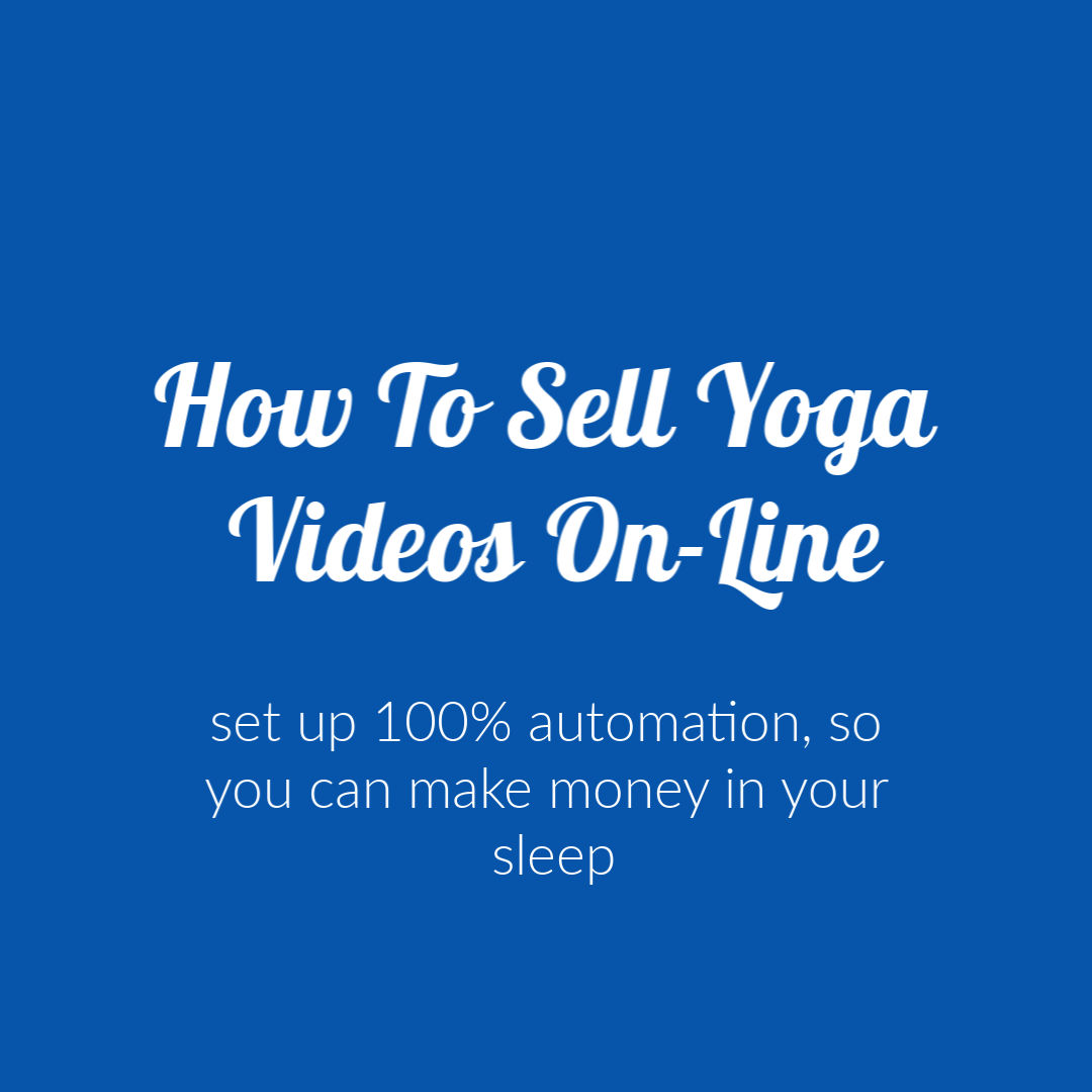 How To Sell Videos on line