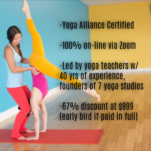 Yoga Teacher Training On-Line