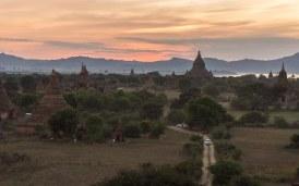 41. dusk view from Shwesandaw