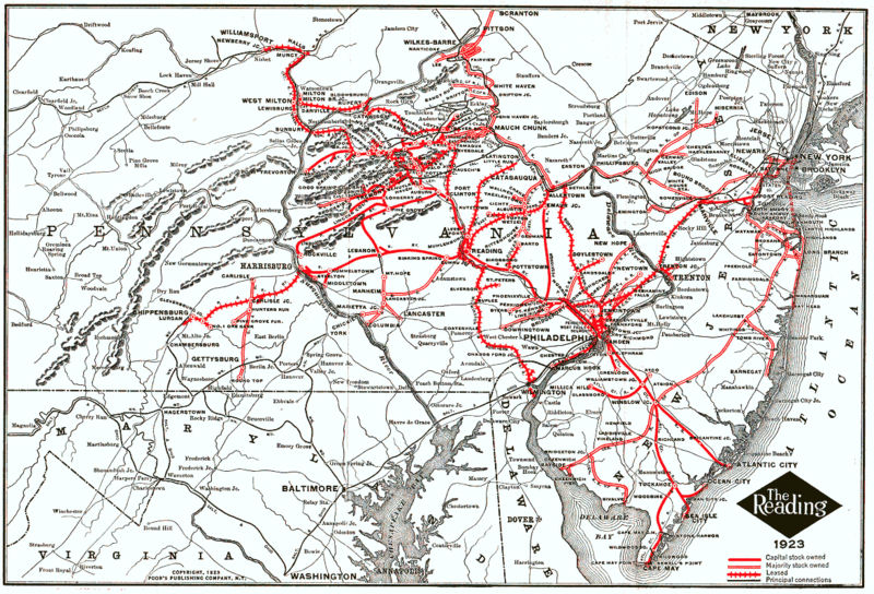 New York Central Railroad Route Maps