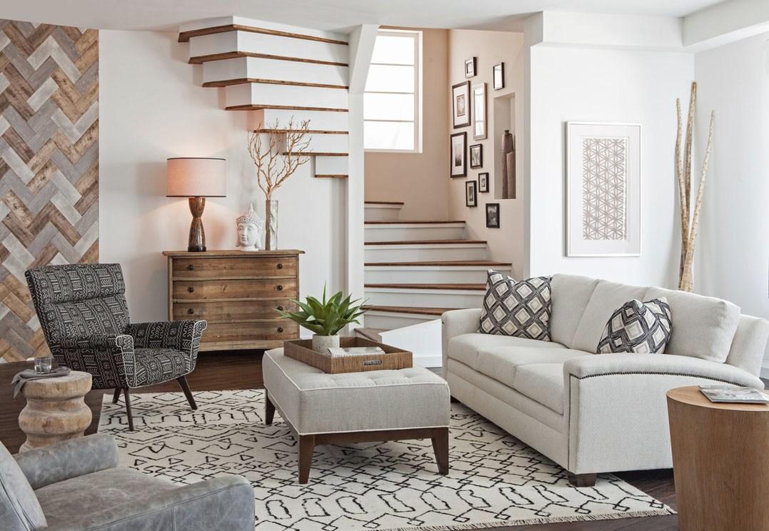 Creative Spiral Staircase Design Living Room Studio Set | Living Room Stairs Design | Home | Classic House | Catalogue | White | Semi Circle House