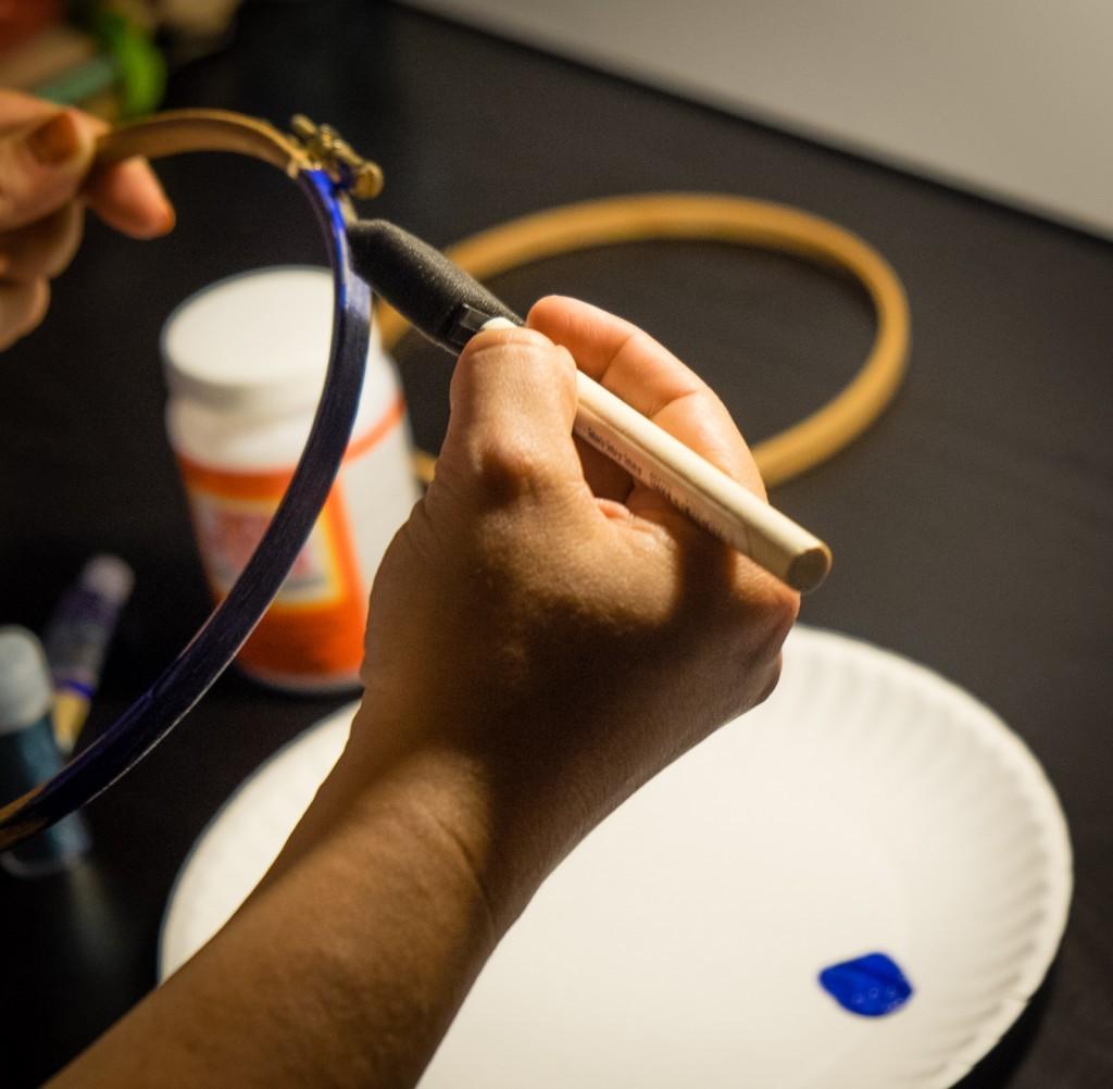 paint your hoop