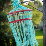 Kids Yarn Chandelier Craft