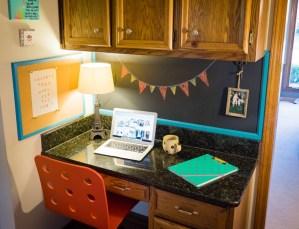Kitchen Desk Update