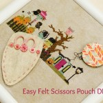 Felt Scissors Pouch DIY