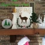 Christmas Canvas Art with Royal Design Studio