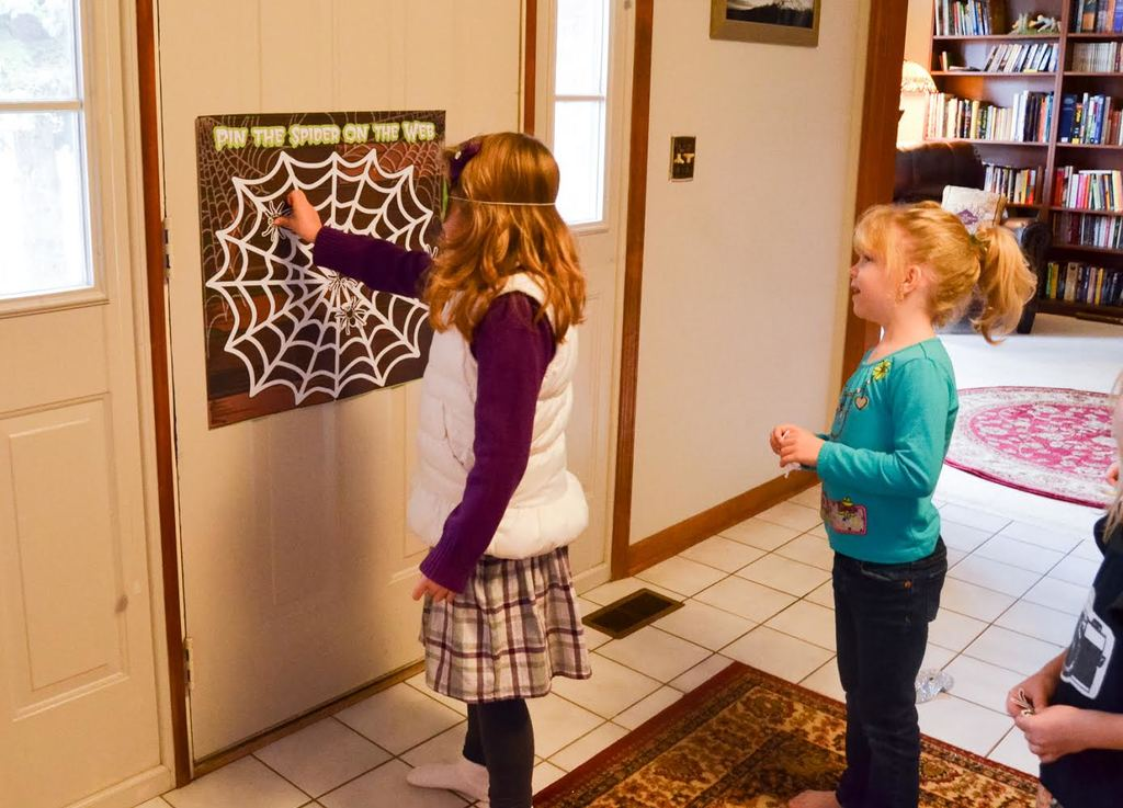 pin the spider
