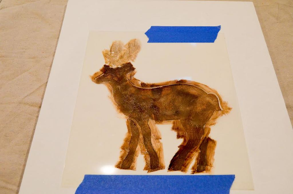 paint the deer