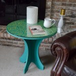 Tribal Batik Side Table
