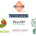 Crafting Month A-Z Giveaway