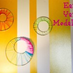 Easy Yarn Medallions