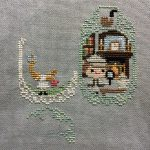 April Cross Stitch Update