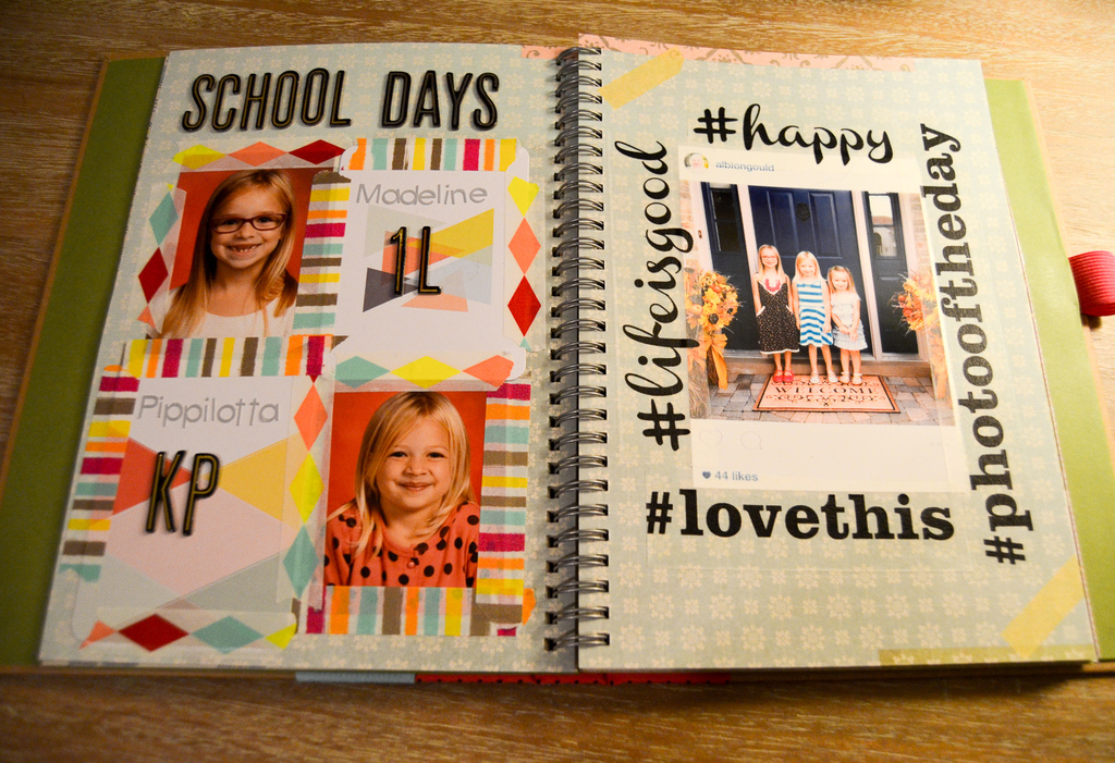 Easy School Days Smashbook Pages
