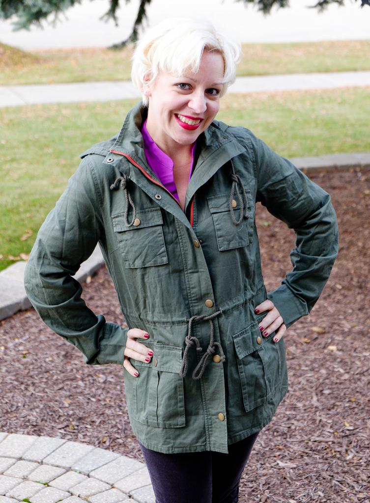 Chaplin Lined Hooded Anorak Jacket