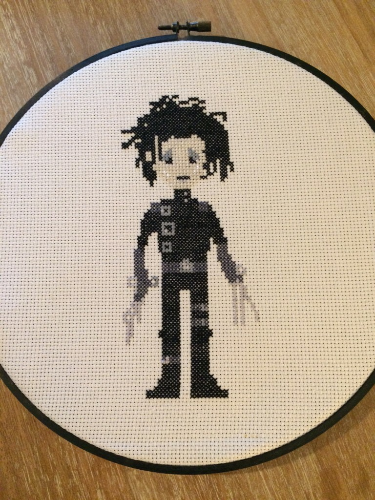 Edward Scissorhands (pattern by Tiny Needle)