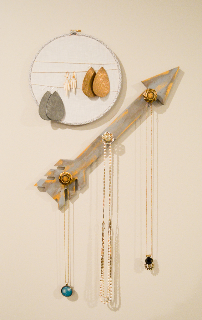Rustic Glam Jewelry Holders