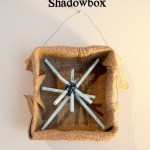 Colby's Craft Challenge: Rustic Snowflake Shadowbox