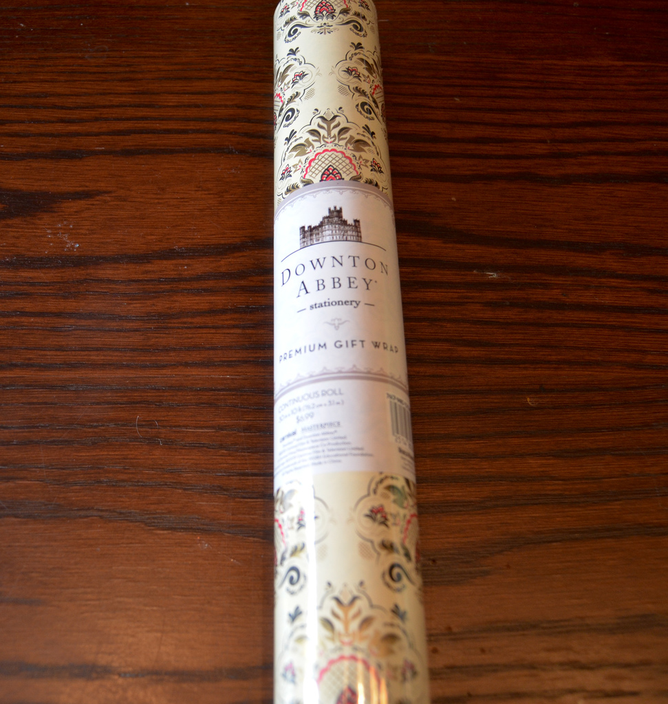 Downton Abbey Wrapping Paper