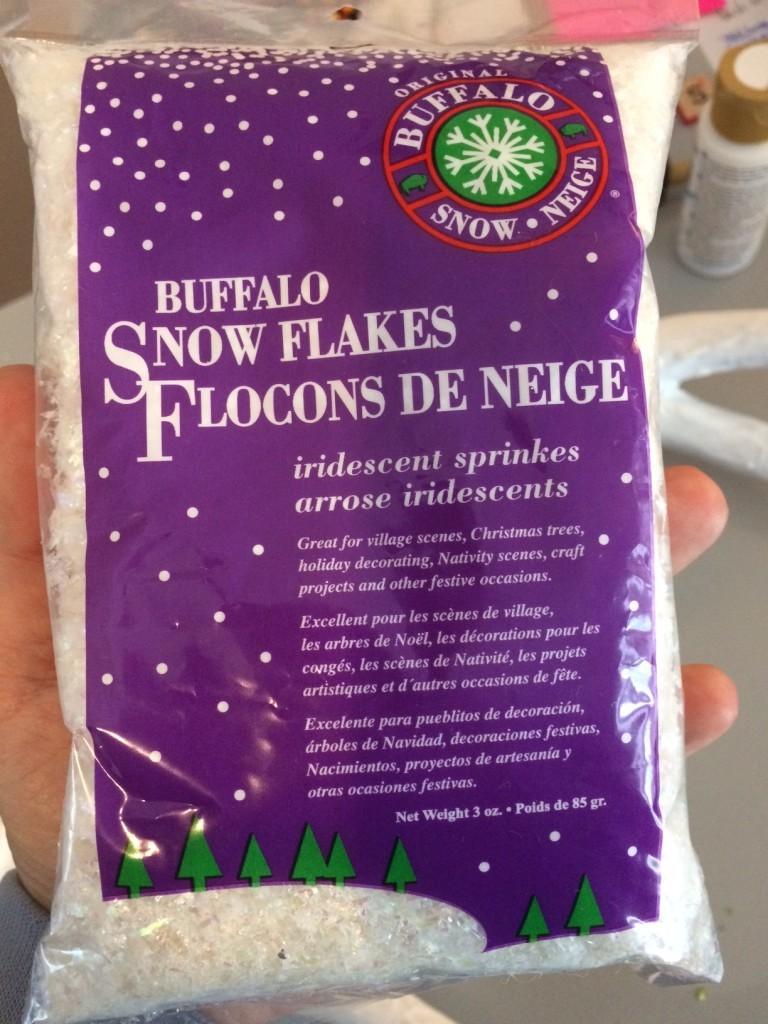 Buffalo snow flakes
