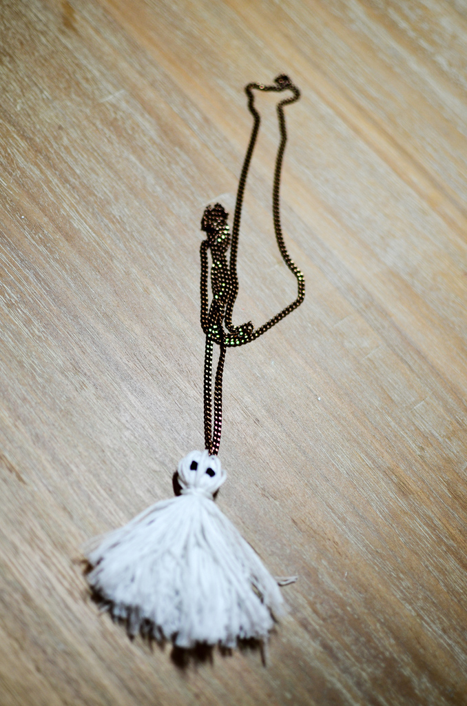 Tassel Ghost Necklace