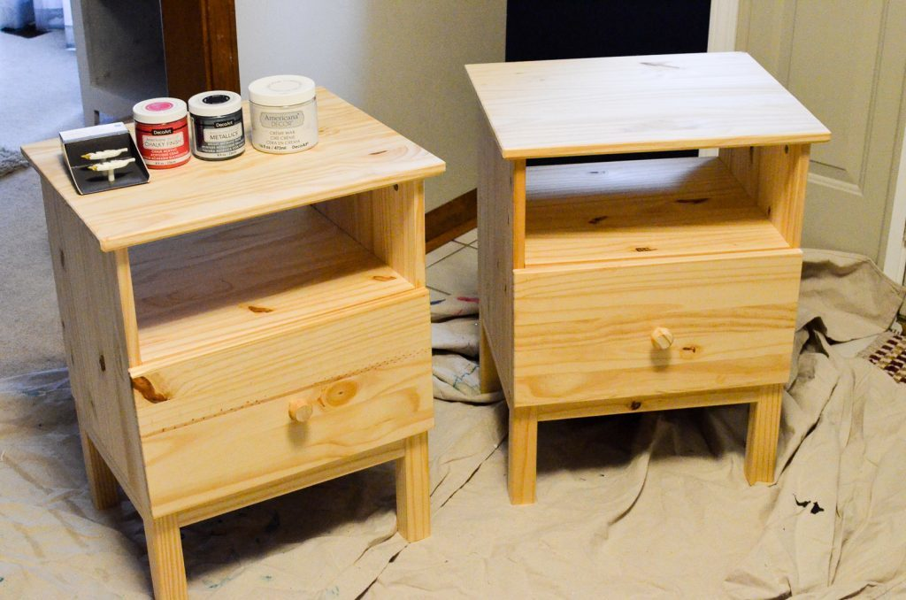 nightstands and paint