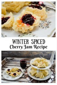 Winter Spiced Cherry Jam Recipe