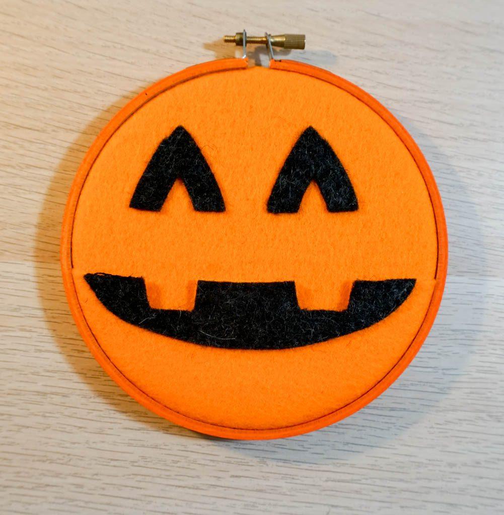Pumpkin Pocket Hoop