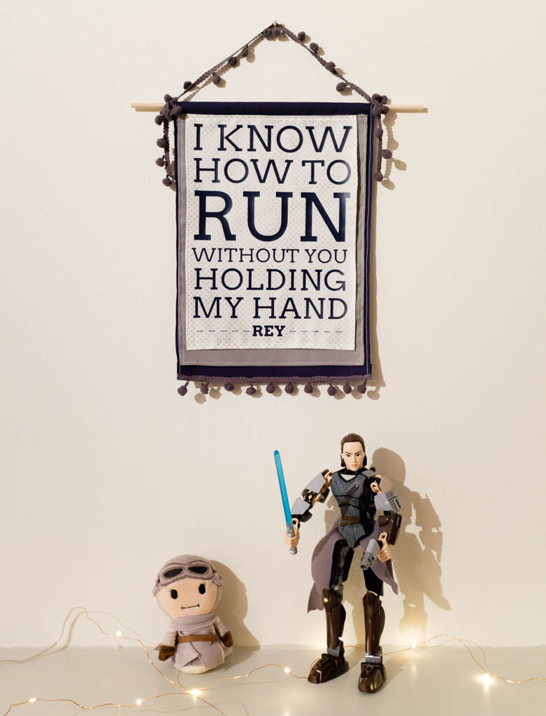 Free Star Wars Rey Printable and SVG
