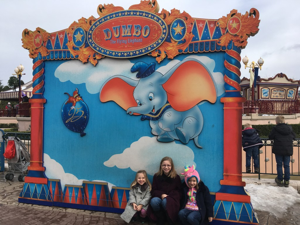 Disneyland Paris in February