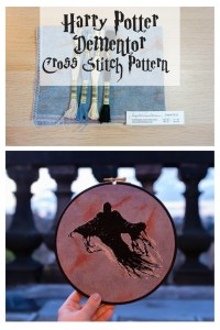 Harry Potter Dementor Cross Stitch Pattern