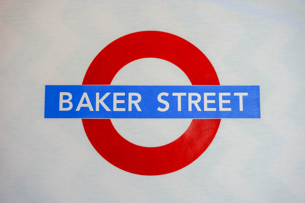 London Underground Baker Street Shirt