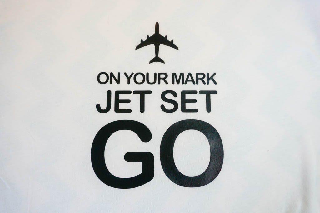 On Your Mark Jet Set Go Shirt