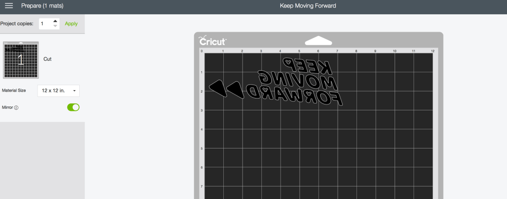 Keep Moving Forward Free SVG
