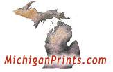 Michigan Prints artwork by Maggie LaNoue
