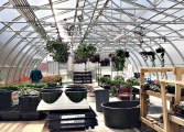 A greenhouse at Marshall High School