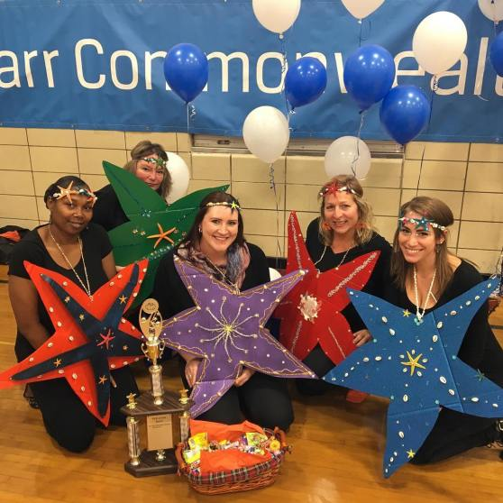 Stars from Starr share with Harrington students