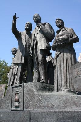 Gateway to Freedom, Detroit