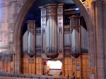 Choir Casework & Console