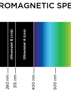Chart electromagnetic spectrum visible light uv far red also par photosynthetically active radiation spectral quality of rh albopepper