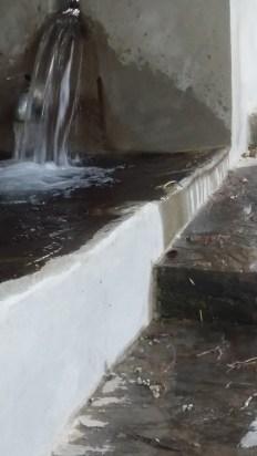 bord cimenté ;bassin qui déborde