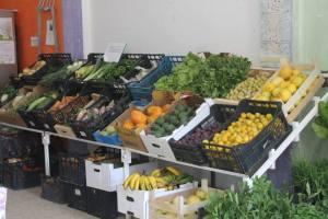 Imagen de frutas y verduras en Alborinco