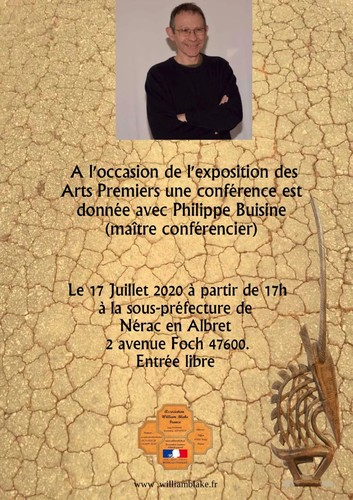 Affiche Conférence Philippe Buisine Nerac 2020