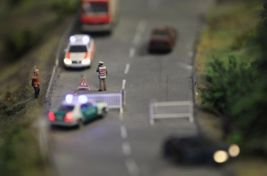 LOXX Miniature Train Landscape Recreates Central Berlin