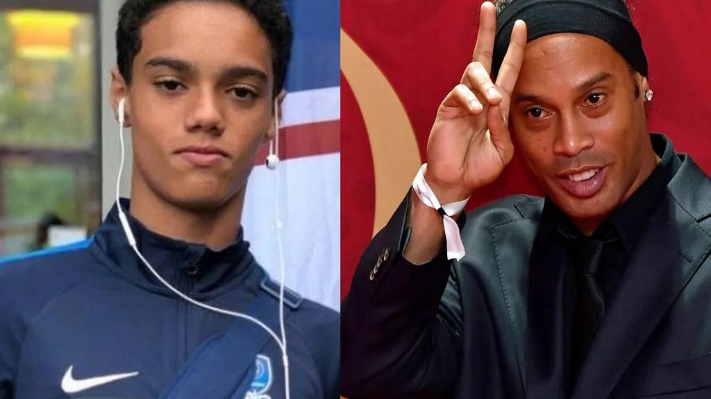 Tiene 13 aos y acaba de fichar por el Cruzeiro el hijo