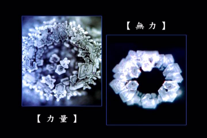 南無阿彌陀佛的水結晶照片:人體和地球有70%是水,善良的意念可以產生美麗的水結晶 - 念佛勿斷,哭笑是假 ...